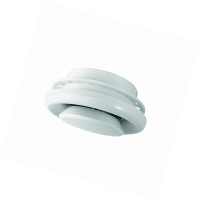 """Deflecto Suspended Ceiling Diffuser, Adjustable, 4"""", White (TFG4)"""