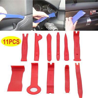 11pcs Car Auto Body Door Panel Console Dashboard Trim Removal Plastic Tools Kit
