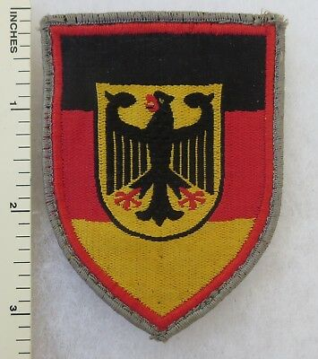 Vintage WEST GERMAN ARMY CENTAL MILITARY STATION COMMAND BUNDESWEHR PATCH
