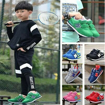 Children Boys Girls Sports Athletic Running Sneaker Shoes N Breathable Trainer