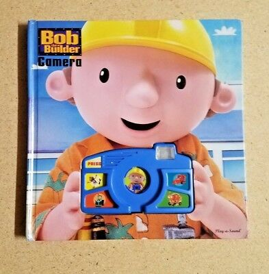 2003 Bob the Builder Talking & Sound Effects Camera Book by Play-A-Sound