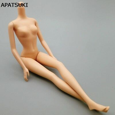 1pc 5 Jointed DIY Movable Nude Naked Doll Body For Barbie Doll House DIY Body