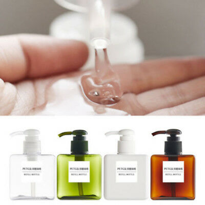 150/250ml Large Bottles Shampoo Empty Lotion Container Pressed Pump Spray Bottle