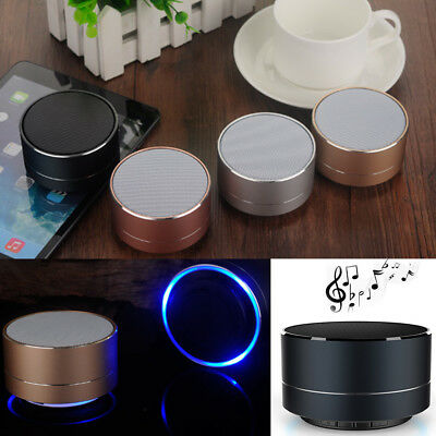 Super Bass Mini Portable Bluetooth Wireless Stereo Speaker For Tablet Smartphone