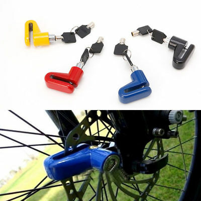 Anti Theft Disk Disc Brake Rotor Safety Lock For Scooter Motorcycle Bicycle Bike