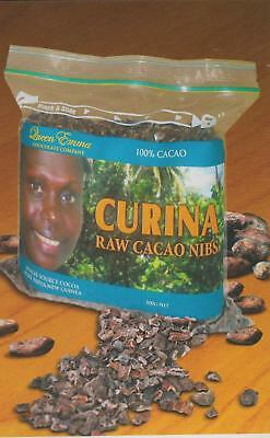 Queen Emma CURINA RAW 100% CACAO NIBS 500g Single Source PURE PNG - FREE SHIP