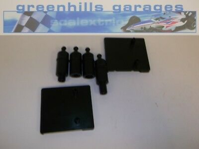Greenhills Carrera Go!!! 2 Bridge Supports with Posts - Used MCGJ2