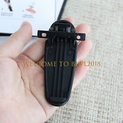 4x KBH-10 Belt Clip for Kenwood TK2306 TK3306 TK2307 TK3307 TK2312 TK3312 TK2317