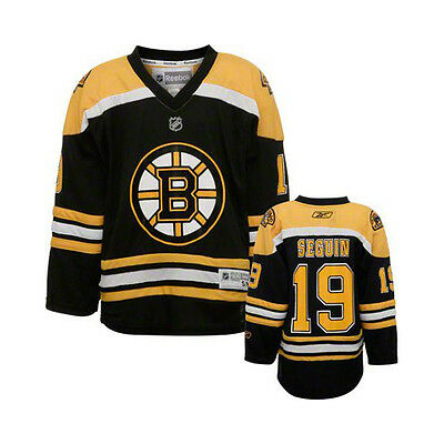 NHL Boston Bruins Tyler Seguin Youth Ice Hockey Shirt Jersey