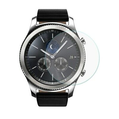 Samsung Gear S3 Smart Uhr Glas Displayschutz Original temperiert 9H Klar
