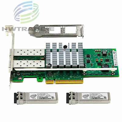 Intel 82599ES X520-DA2 10Gb/S PCl-E E10G42BTDA Ethernet Adapter+2 FTLX8571D3BCV