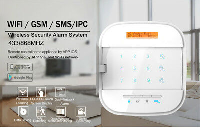 Wifi/GSM alarmsysteem basis set,