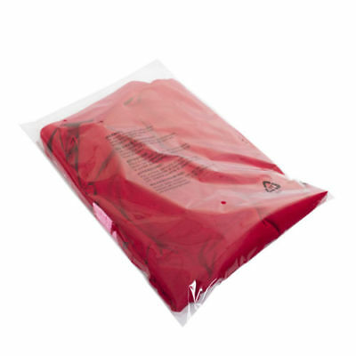 """12""""x16"""" CLEAR Packaging PEEL & SEAL Transparent Polythene Garments Packing Bags"""