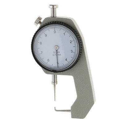 0-10mm Dental Surgical Endodontic Gauge Dial Thickness Caliper Dentist Ruler