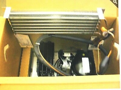 Cooler Refrigeration System Complete & Operational, Dixie-Narco Cooler, 1/3 HP