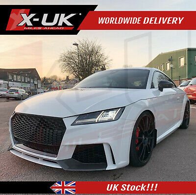"""Front bumper conversion for Audi TT / TTS 2014-2017 MK3 """"with washed jet holes"""""""
