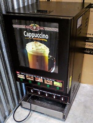 Cecilware Commercial Cappuccino / Hot Cocoa Dispenser (5 Flavor)