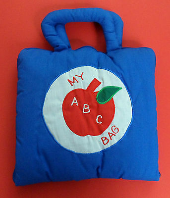 Philippine Adorable Handmade ABC booklet bag with Complete Alphabet