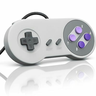 CSL USB SNES Gamepad / Controller für PC / Notebook / Tablet | Retro-Design