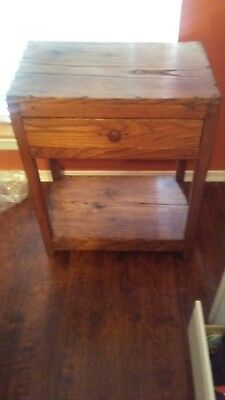 "antique wash stand, 31"" high, 20 lbs"