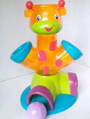 Bright Starts - Drop & Giggle Giraffe Toy for Babies 6 Months and Up Sounds Fun