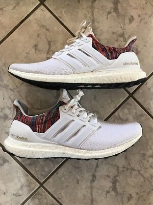 273de45a9d288 Mi Adidas Ultra Boost Rainbow Multi White Size 12 (BY1756) 100% AUTHENTIC