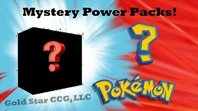 Pokemon Mystery Power Packs - 5 Booster Packs - 1:2 (50%) Chance at Vintage Pack
