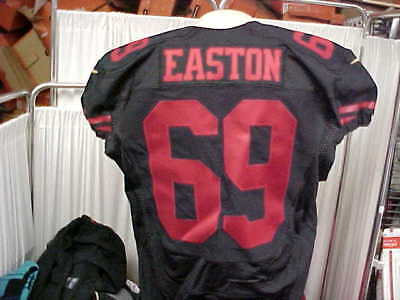 2015 NFL San Francisco 49ers Game Worn Color Rush Jersey  69 Nick Easton Size  48 5f4032a7e