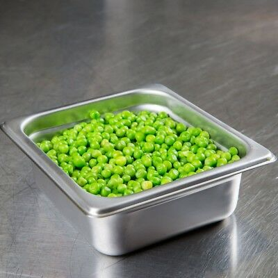 Buffet Pans 1/6 Size 2.5' Deep Stainless Steel Steam Table Hotel Pan (Pack of 6)