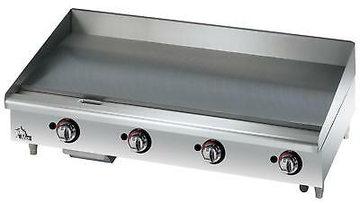 Star 648TF Star-Max Countertop 48in Thermostatic Gas Griddle