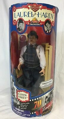 """Laurel and Hardy Exclusive Premiere Oliver Hardy 10"""" Doll Figure #2299 Of 8351"""