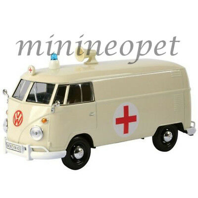 Volkswagen T1 Type 2 Van Hot-Road 1962 Matt Black MOTORMAX 1:24 MTM79567