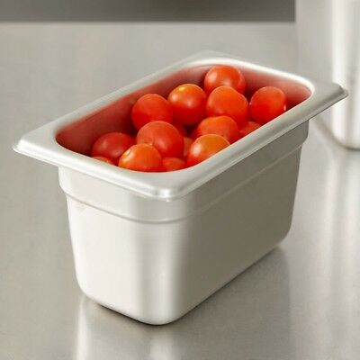 Buffet Pans 1/9 Size 4' Deep Stainless Steel Steam Table Hotel Pan (Pack of 6)