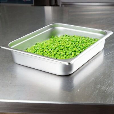 Buffet Pans 1/2 Size 2.5' Deep Stainless Steel Steam Table Hotel Pan (Pack of 6)