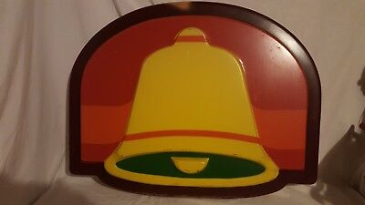 Vintage Taco Bell Sign Face-Rare!