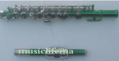 Musical Instruments & Gear Purple Piccolo C Key Real Nickel Plated Great Material #3987 Piccolos