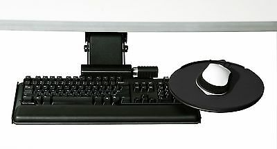 "Keyboard Tray - Humanscale 6G-900- 9"" Clip Mouse, Foam Palm Rest, 22"" Track"