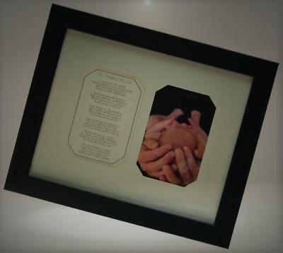 The Grandparent Gift Co. Photo Frame, My Daddy's Hands