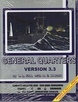 General Quarters 3rd Edition - Complete Rules for 1930-1950 Naval Wargaming