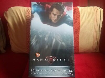 man of steel edition collector limitee