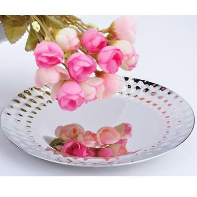 Stainless Steel Trays Kitchen Food Serving Hotel Restaurant Bar Tray Plate