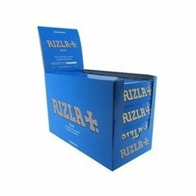 Rizla Blue Stand 100 Booklets Box REGULAR /STANDARD CIGARETTE ROLLING Papers