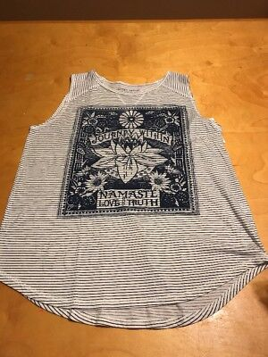 $29.50 Lucky Brand women's graphic tee journey with in various sizes L1