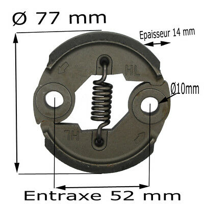 Clutch To Fit Various Strimmer Trimmer Brushcutter Embrayage