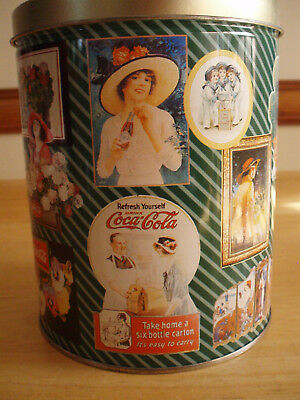 Coca-Cola: Tin and Jigsaw Puzzle - Theme: Vintage Ads featuring Women & Coke
