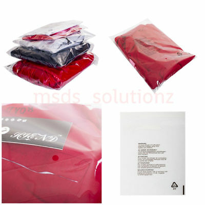 "18""X 22"" Transparent Cellophane Packaging Peel&Seal Clear Polythene Packing Bags"