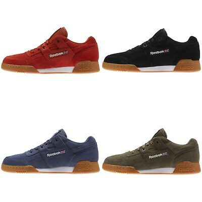 f5c8385f99a7bb REEBOK WORKOUT PLUS Classic Blue Suede Mens Sneakers Size 8 -  39.99 ...