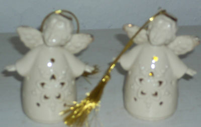 Lennox Angel Ornament Boy From Avon