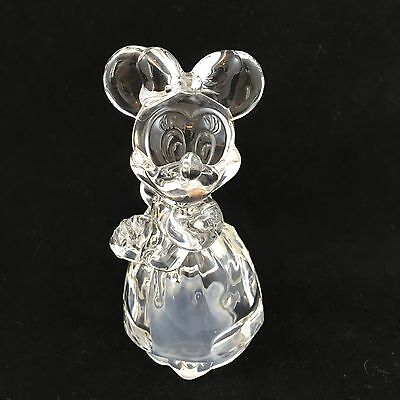 Lenox Disney Minnie Mouse Lead Crystal Salt shaker Made in Germany Lovely!