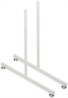 Gridwall Full-size Pair of Legs - White